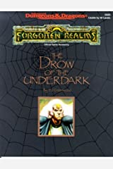 The Drow of the Underdark: Forgotten Realms Accessory, 2nd Edition (Advanced Dungeons & Dragons) Paperback