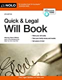 img - for Quick & Legal Will Book book / textbook / text book
