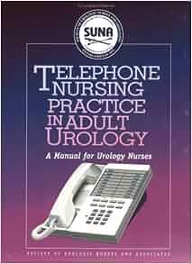 adult in manual nurse nursing phone practice urology urology