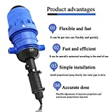 NEWTRY 0.4%~4% Adjustable Fertilizer Injector Water