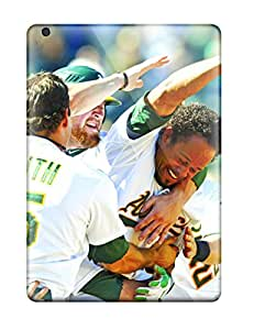 Best oakland athletics MLB Sports & Colleges best iPad Air cases 4714099K421433114