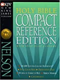 Holy Bible Compact Reference Edition with Snap-Flap Closure NKJV (New King James Version)