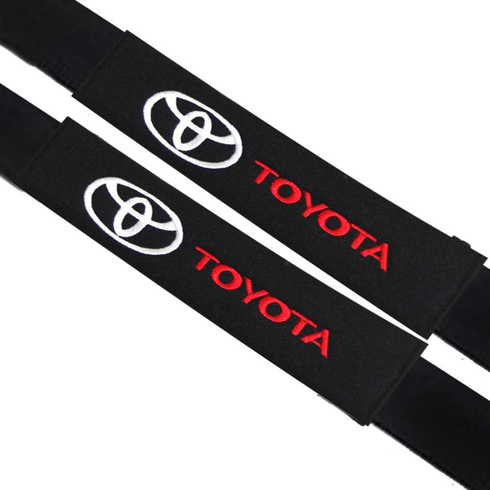 Morbido cotone protegge il collo e la spalla VILLSION 2Pack Auto Accessori Audi Sline Imbottiture Cinture di Sicurezza