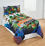 TMNT Ninja Turtles Training 4pc Twin Bedding Set