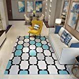 Living room sofa coffee table large carpet / bedroom bedside carpet / study swivel chair mat / children crawling mat ( Size : 160230cm )