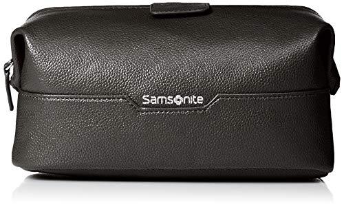 (Samsonite Men's Dusk Framed Travel Kit, black, standard)