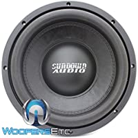 SA-10 D4 REV 3 - Sundown Audio 10 Dual 4-Ohm 750W RMS SA Series Subwoofer