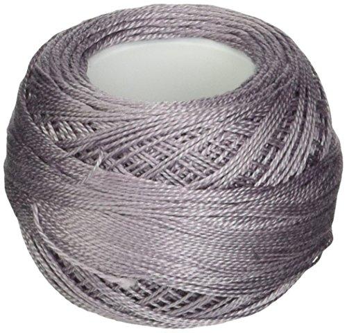 DMC 116 12-3042 Pearl Cotton Thread Balls, Light Antique Violet, Size 12 (Antique Dmc Floss)