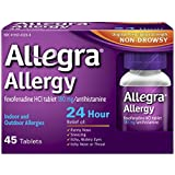 Allegra 24 Hour Allergy Relief, 180 mg, 45-Count