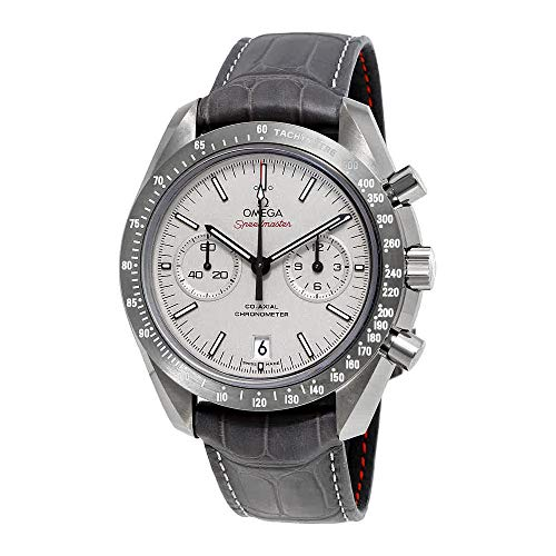 Omega Speedmaster Moonwatch Automatic Grey Dial Mens Watch 31193445199002 - Moon Speedmaster Omega Watch
