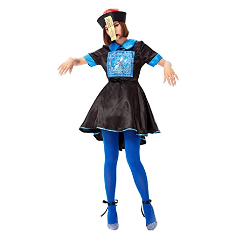 Disfraz Halloween Mujer Niña Adulto Plus Size Zombie Juega Vestido ...
