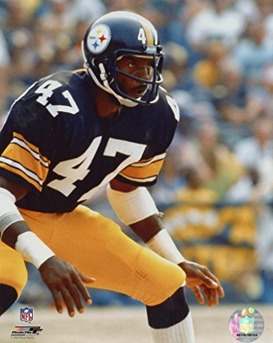 MEL BLOUNT PITTSBURGH STEELERS UNSIGNED 8X10 PHOTO ()
