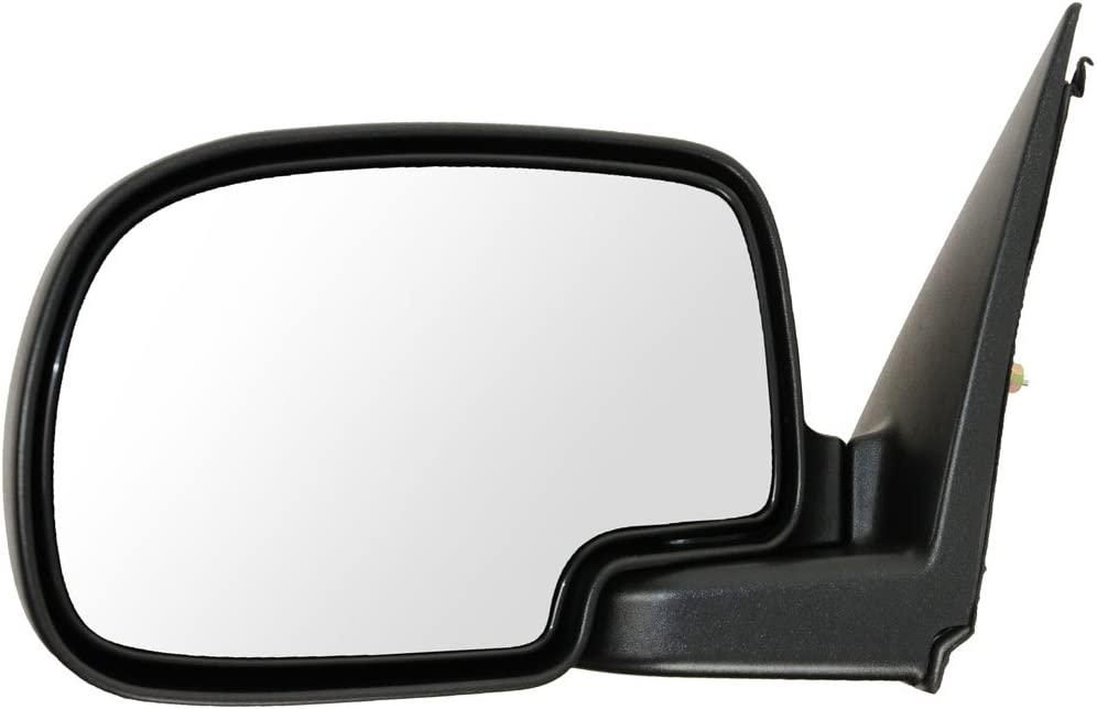 Mirror Power Heated Chrome Driver Side Left LH for Chevy GMC Pickup Truck New