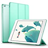 iPad Mini 2 Case, ESR iPad Mini Smart Case Cover [Synthetic Leather] Translucent Frosted Back Magnetic Cover with Sleep/Wake Function for iPad Mini 1/2/3 (Mint Green)