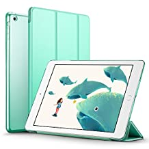 iPad Mini Case, iPad Mini 3 Case, iPad Mini 2 Case, ESR Yippee Color Series Smart Cover+Transparent Back Cover [Ultra Slim] [Light Weight] [Scratch-Resistant Lining] [Perfect Fit] [Auto Wake Up/Sleep Function] for iPad mini 3/2/1 (Mint Green)