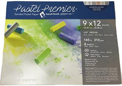 Pastel Premier Sanded Pastel Paper 9X12 Asst by Handbook Paper (Image #1)