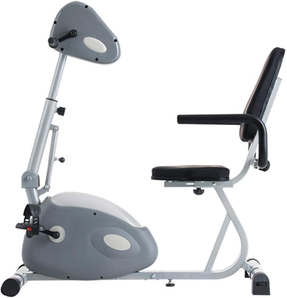 Bicicleta de rehabilitación eléctrica Home Fisioterapia Mini Bicicleta, Entrenamiento hemiplegico de Trazo, 10 velocidades Idea DDLS (Color : B)