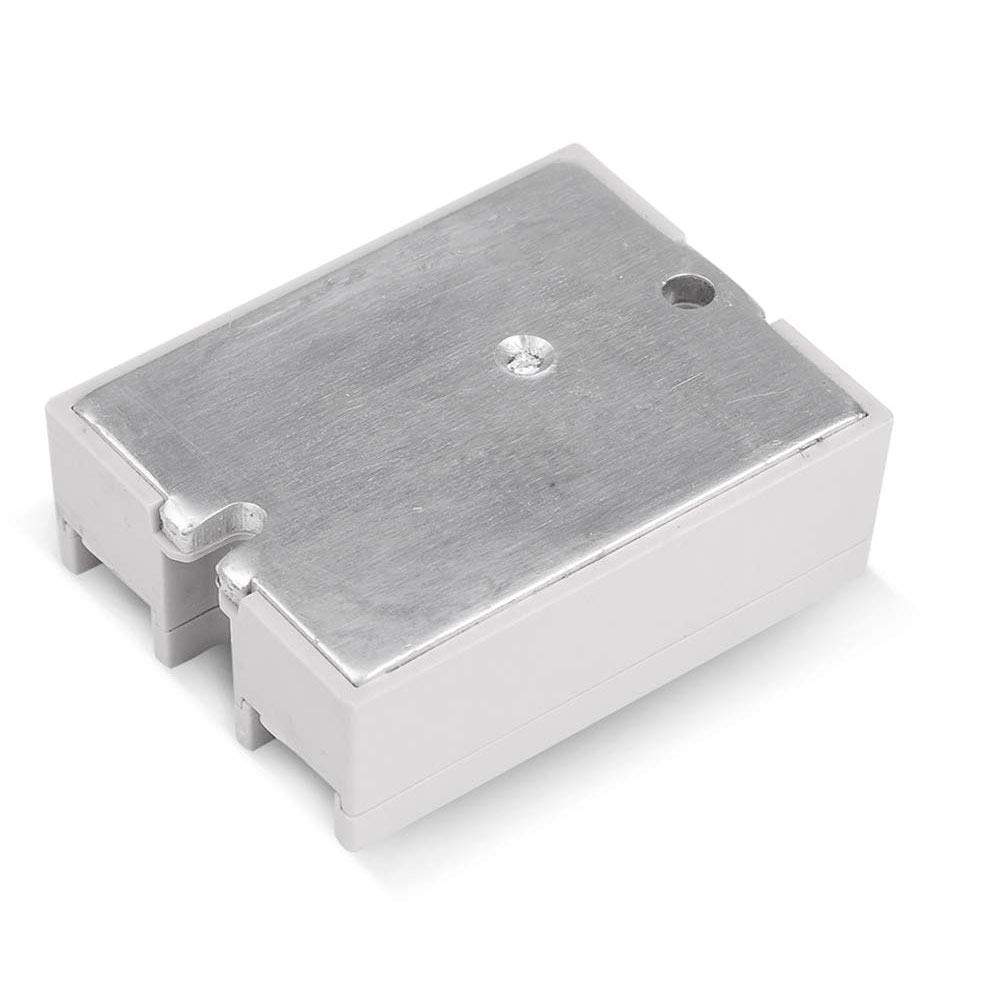 Syst/èmes de contr/ôle automatique Entr/ée Sortie 3-32V CC 24-380V CA Utilisation dans des environnements difficiles 2PCS SSR-40DA Relais /à semi-conducteurs Relais monophas/é /à semi-conducteur
