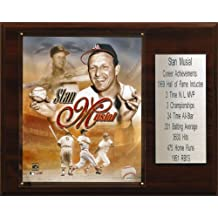 MLB Stan Musial St. Louis Cardinals Career Stat Plaque