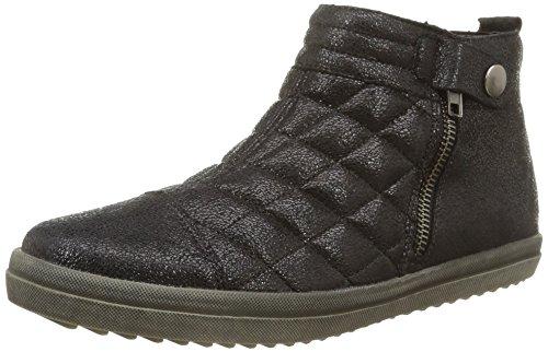 RemonteR6682 02 - Zapatillas Altas Mujer Negro - negro