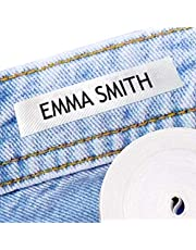 100 Personalised Iron-on Fabric Labels to Mark Your Clothes. Gentle with Your Kids Skin, for Children's School Uniform/Clothes/Clothing Labels for Kids, Baby and Children. SEND TEXT in GIFT MESAGE