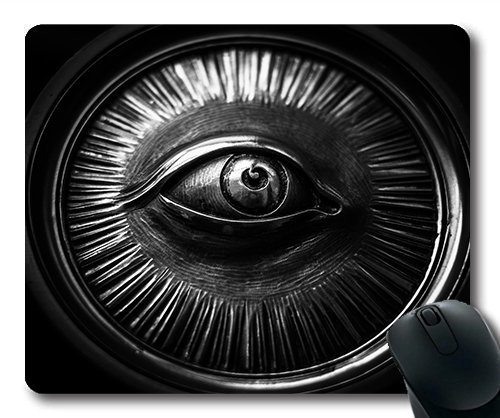 (Precision lock edge mouse pad) Abstract Aluminum Aperture Art Car Chrome Dark Gaming mouse pad mouse mat for mac or computer