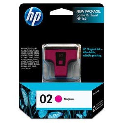 370 Inkjet (HEWLETT-PACKARD 02 Ink Cartridge Magenta - Inkjet - 370 Page / C8772WN#140)