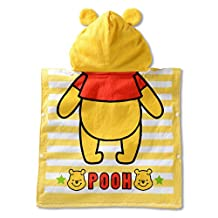 Kids Hooded Towel Wrap for Bath, Pool or Beach (Winnie the Pooh)