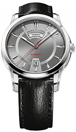 maurice-lacroix-mens-pontos-grey-dial-black-leather-strap-automatic-watch-pt6158-ss001-231