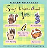 Five Ways to Know about You, Karen Gravelle, 0802775861