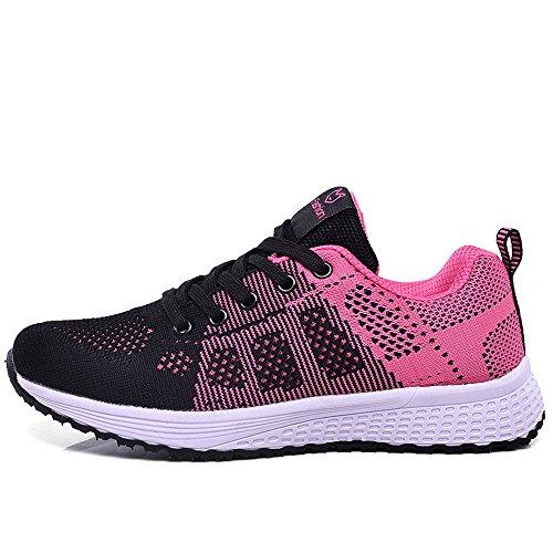 UK6 chaussures sport LVZAIXI Chaussures Rouge taille CN39 Gym version Jogging de coréenne Flat Couleur Rouge EU39 Casual douillet Shoes wHqSdxqa