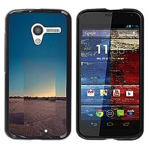 iKiki Tech / Estuche rígido - View Landscape Horizon Desert - Motorola Moto X 1 1st GEN I XT1058 XT1053 XT1052 XT1056 XT1060 XT1055