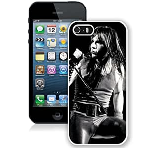 Beautiful Designed Cover Case With Bruce Dickinson Microphone Singing Show Hair (2) For iPhone 5S Phone Case