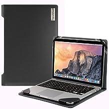 Broonel London - Profile Series - Black Leather Luxury Laptop Case For Asus Zenbook UX305