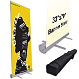 Rollup Retractable Banner Stand (33 x 79 In.)