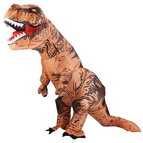T Rex Costume For Adults - Lulu Home Dinosaur Costume, Halloween 7