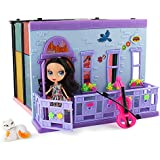 Doll House Toy Furniture Folding Girls Kids Play Dollhouse Accessories Set Bedroom