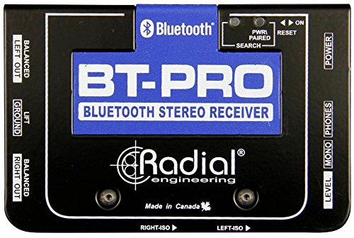 Radial BT-Pro 1-channel Active Bluetooth Direct Box by Radial