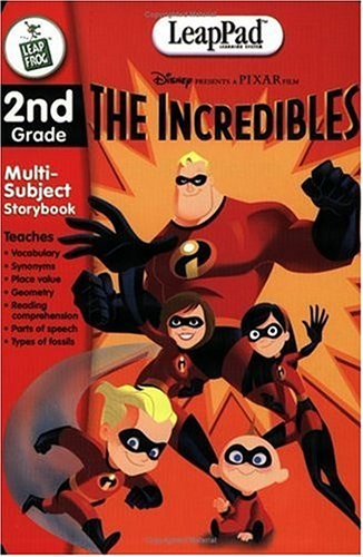 - LeapFrog LeapPad Educational Book: The Incredibles