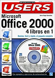 MS Office 2000, 4 Libros en 1 con CD-ROM: Manuales Users,