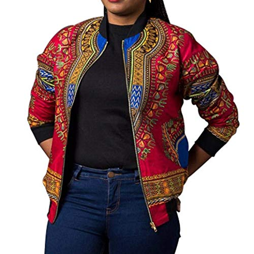 Primaverile Maniche Corto Giubbino Fashion Stile Lunghe Autunno Rosa Jacket Cappotto Ragazza Donna Cerniera Giacche Relaxed Casual Etnico Con Vintage Chic 8Xq5FR