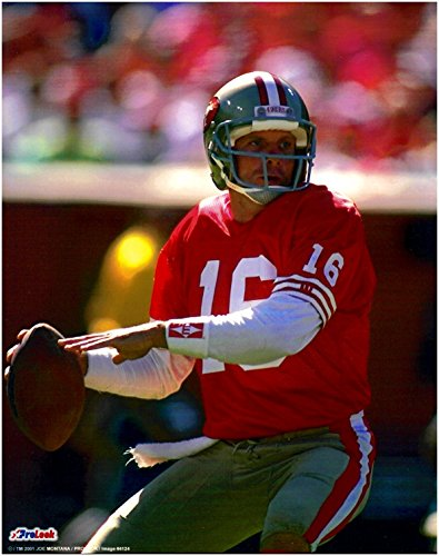 Joe Montana San Francisco 49ers Unsigned Licensed Football Photo 4