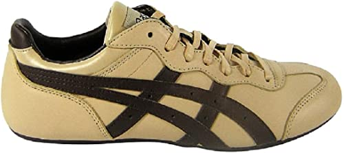 lamentar Pickering porcelana  ASICS Whizzer Lo Le Beige/Brown Leather Beige Size: 3.5: Amazon.co.uk:  Shoes & Bags