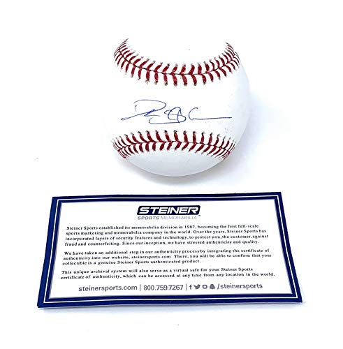 Deion Sanders Atlanta Braves Signed Autograph Official MLB Baseball Steiner Sports Certified
