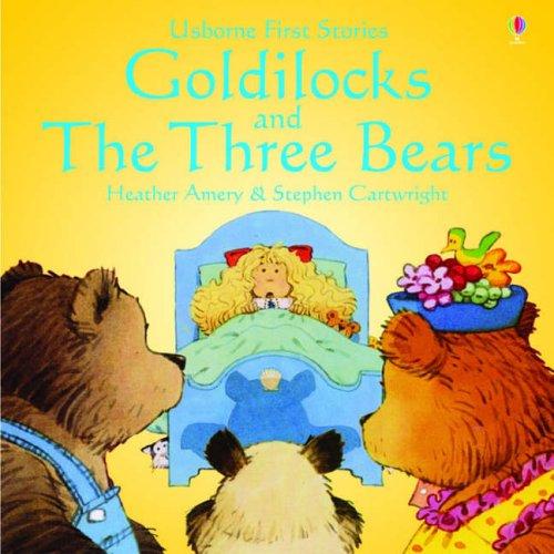 Usborne Fairytale Sticker Stories Goldilocks And The Three Bears ...