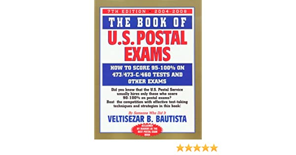 The Book Of U S Postal Exams How To Score 473 473 C 460