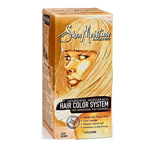 Shea Moisture Hair Color System, Light Blonde by Shea Moisture