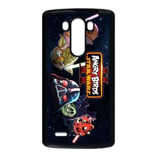 LG G3 phone case Black Angry Birds StarwarsMOL7624925