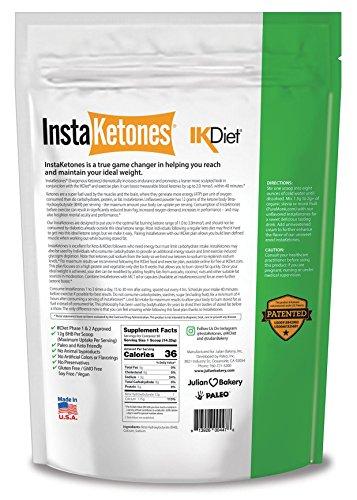InstaKetones® 12g GoBHB® +Calcium Per Scoop (Unflavored) (90 Servings) Exogenous Ketones (2.83 lbs) by Julian Bakery (Image #1)