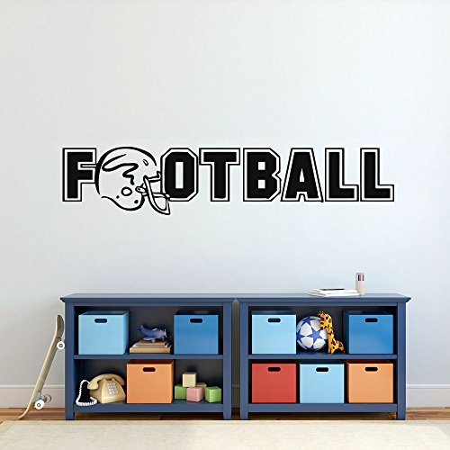 American Football Ball Sport Activity Bedroom Kids Nursery Girl Boy Wall Sticker Decals Room Design Decor 799RE
